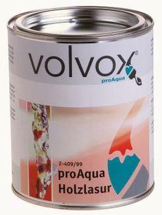 Holzlasur proAqua natur mit UV-Schutz