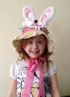 #Easter Bonnet winner from previous years!