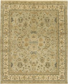 The Mirzapur Collection is Due Process at their finest. Made with high quality pure wool and knotted by only the most skilled of artisans, this classic, traditional rug has the absolute finest of detailing and knots....