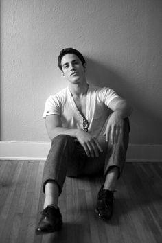Michael Trevino. He's the most attractive werewolf I've seen;)
