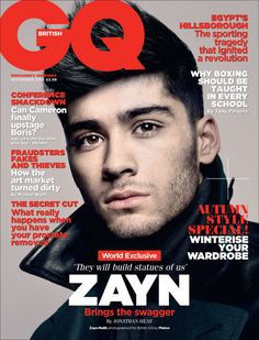When He Flawlessly Covered GQ Magazine