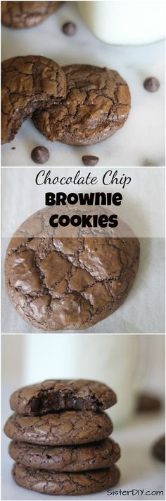 Delicious chewy cookies that are the best of both worlds!