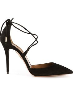Shop Aquazzura 'Matilde 105' pumps in Fivestory from the world's best independent boutiques at farfetch.com. Over 1000 designers from 300 boutiques in one website.
