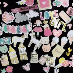 70pcs Cute Girl Life Colorful Cardstock Die Cuts for Scrapbooking/Card Making/Journaling Project DIY Cute Girl-in Stickers from Home & Garden on Aliexpress.com   Alibaba Group
