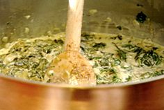 Creamed Spinach from FoodNetwork.com