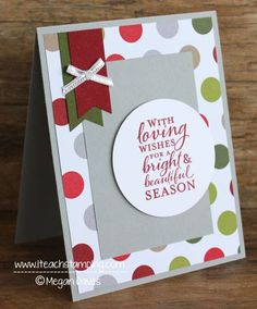 Monday Paper Craft Idea: A card where Curves & Straight lines are looking gorgeous together.  http://www.iteachstamping.com/2015/11/curves-and-straight-lines-looking-gorgeous-together/