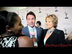 #DaytimeEmmys Nominee Party: #RedCarpetReport @Linda Antwi's interview http://ht.ly/m4jCF w/ Cristina Ferrera