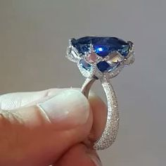 DIVE INTO THE BLUE!!! From @formsjewellery , brand new and hot off the press, over 20 carats  Burmese blue sapphire, set as only @formsjewellery can!!!! With modified lozenge cut diamonds gracing the sides of the sapphire, and detailing to die for, this ring is the ring of my dreams!!!! Unbeatable @formsjewellery !!!!