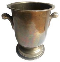 Brass Wine Bucket | Vintage Finds | One Kings Lane