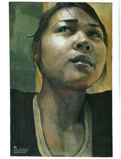 American Artist Magazine: Making Dynamic Portraits in Acrylic 2