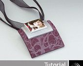 """Polymer Clay PDF Tutorial """"Brooch/Pendant with Transfers"""""""