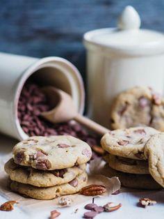 Chocolate chip cookies (med hemmelig ingrediens) - Ida Gran Jansen Chocolate Chip Cookies, Nom Nom, Chips, Sweets, Cake, Desserts, Recipes, Snacks, Food