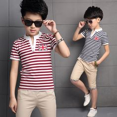 Find More Clothing Sets Information about 2016 Summer Style Boys Children Clothing Sets Kids Pants + Top Boys Stripe Kids Clothes Children Tracksuit Cotton Sport Suits,High Quality suit casual,China suit apparel Suppliers, Cheap suit girls from Lissc Store on Aliexpress.com