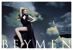 Katrin Thormann stuns in the Beymen fall 2012 campaign wearing some of fashion's biggest names.