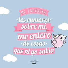 """42.9 mil Me gusta, 579 comentarios - Puterful Oficial (@puterfuloficial) en Instagram: """"Me encanta!"""" Cool Phrases, Funny Phrases, Famous Quotes, Me Quotes, Spanish Jokes, Funny Qoutes, Mr Wonderful, Wise Words, Messages"""