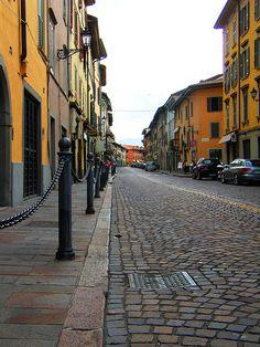 Via Borgo Santa Caterina, Bergamo, Italy