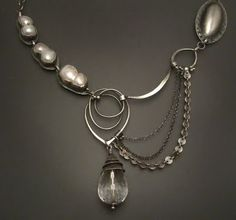 """etsy metal: The Next Etsy Metal Jewelry Challenge: Project Runway Season 6-Episode 9: """"Sparkle, Shimmer and Shine"""""""