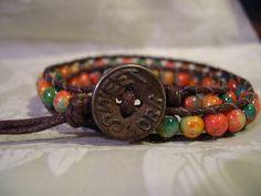 Double Wrap Beaded Bracelet Multicolored by WrapBraceletsbyLynn, $15.00