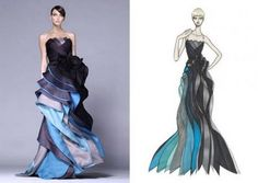 Atelier_Versace_Fall_2008 http://thestylepocketbook.wordpress.com/2010/10/26/atelier-versace-colpo-di-fulmine/
