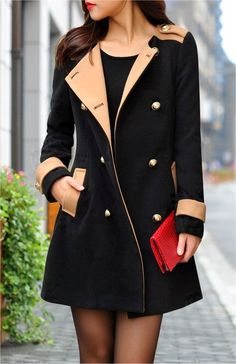 See more Lovely Black Long Coat