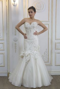 Callie (3) Designer Wedding Gowns, Designer Gowns, Alfred Angelo, Plus Size Designers, Crystal Beads, Bridal Gowns, One Shoulder Wedding Dress, High Fashion, Royalty