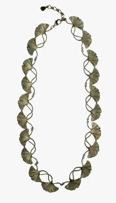 Silver Seasons - Michael Michaud - Gingko Necklace
