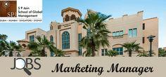 Marketing Manager Jobs in SPJ School in UAE, Dubai Visit jobsingcc.com for more info @ http://jobsingcc.com/marketing-manager-jobs-spj-school/