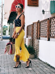 Street style summer fashion blogger