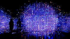 銀座に現れた「光の宇宙空間」が幻想的すぎる!