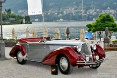 1936 Lancia Astura 3A Serie Cabriolet by Farina
