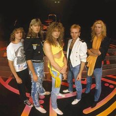 SnapWidget | On this day in #DefLeppard history - 27th October - In 1988 Leppard played the final show on their 232-date #Hysteria world tour at the Tacoma Dome, Tacoma, Washington! (: Ross Halfin)