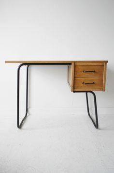 Pierre Guariche 1950s French desk.
