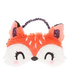 Pink Fox Sleep Mask - Claire's - £7