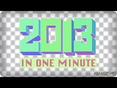 ▶ 2013 IN ONE MINUTE   ANIMATION DOMINATION HIGH-DEF - YouTube