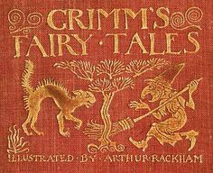 Detail by Grimm's Fairy Tales--Illustrated by Arthur Rackham, who, I 've learned through Pinterest, was an astonishing illustrator.