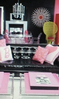 Barbie themed suite at the Palms resort in Las Vegas