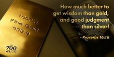 Godly wisdom is invaluable. Never stop seeking after it. #Proverbs #Scripture