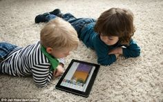 Tablets and phones have replaced the TV as a way of keeping children entertained, yet these devices could be damaging to a child's health po...