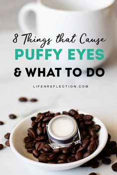 Tightening DIY Coffee Eye Cream for Puffy Eyes Tightening DIY Coffee Eye Cream for Puffy Eyes<br> Make a DIY coffee eye cream for puffy eyes! Infused with caffeine to reduce under eye bags, dark circles, and fine lines too. Homemade Eye Cream, Homemade Skin Care, Homemade Facials, Homemade Beauty, Reduce Under Eye Bags, Beauty Hacks Skincare, Diy Beauty, Beauty Tips, Clean Beauty