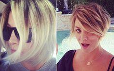 Studio B Hair & Make-up: Novo corte da Penny (Kaley Cuoco)