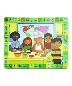 Take a look at this All-Purpose Kitchen Mat by Handstand Kids on #zulily today!