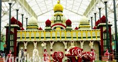 """The """"Flower Palace"""" at the Bangalore Lalbagh Flower Show 2014   Fottams!"""