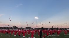 Graduation just wouldn't be complete without the throwing of the graduation cap in the air! Congratulations to the class of 2020 at Plymouth High School. Video captured by PHS student Jayson Metcalf. #PCSCweCARE