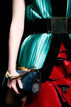 Balmain Fall 2015 Ready-to-Wear Runway Handbags / Clutches
