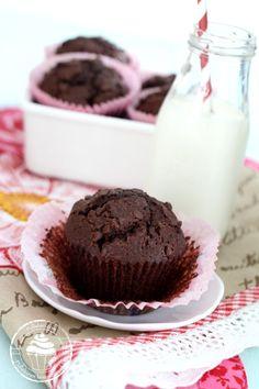 Pullahiiren leivontanurkka: Yhden kulhon suklaamuffinssit - mehevät ja herkulliset