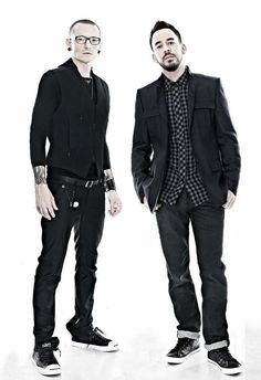 Chester Bennington and Mike Shinoda  Linkin Park