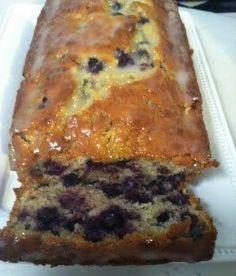... blueberry banana bread