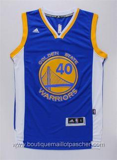 maillot nba pas cher Golden State Warriors Barnes #40 Bleu nouveaux tissu fans Edition 22,99€