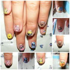 Amazing world of gumball nails.