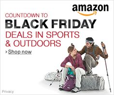BLACK FRIDAY Deals in SPORTS & OUTDOORS at AMAZON. Shop Now for Sales & Bargains.  Click on this Image and again when it reappears until you are at Amazon. http://www.gainesvillefloridahomes.com/AMAZON_STORE/page_2506887.html